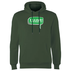 Raaawr Hoodie - Forest Green