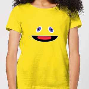Rainbow Zippy Face Frauen T-Shirt – Gelb