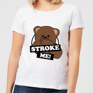 Rainbow Stroke Me Bungle Frauen T-Shirt - Weiß