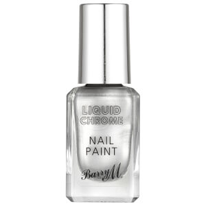 Barry M Cosmetics Liquid Chrome Nail Paint - Rain On Me