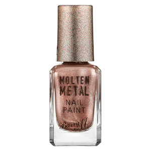 Barry M Cosmetics Molten Metal Nail Paint - Pink Ice