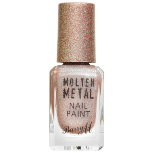 Barry M Cosmetics Molten Metal Nail Paint - Holographic Moon