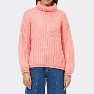 Stine Goya Women's Nicholas Mohair Knit Jumper - Pink