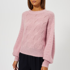 Whistles Women's Sophia Mohair Sweater - Pale Pink