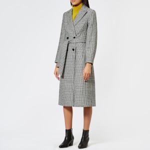 Whistles Women's Penelope Belted Check Coat - Multi