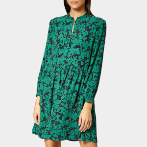 Whistles Women's Jacqueline Deco Print Shirt Dress - Green/Multi