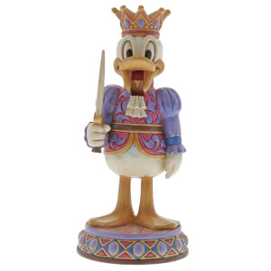Disney Traditions Reigning Royal Donald Duck Figurine