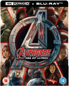 Avengers Age Of Ultron 4K Ultra HD (Includes 2D Version) - Zavvi Exclusive Steelbook