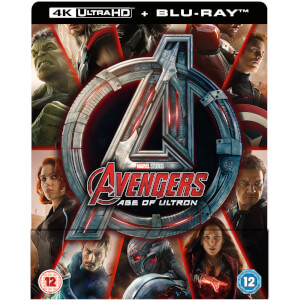 Avengers Age Of Ultron 4K Ultra HD (Includes 2D Version) - Zavvi UK Exclusive Steelbook