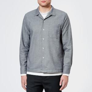 Universal Works Men's Garage Shirt - Navy