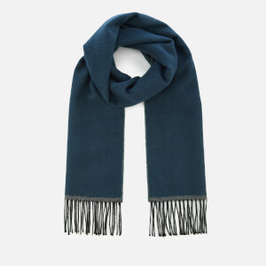 Universal Works Men's Double Sided Scarf - Navy/Grey
