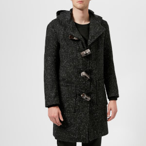 Matthew Miller Men's Balfour Duffle Coat - Salt and Pepper