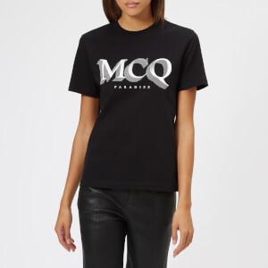 McQ Alexander McQueen Women's Short Sleeve Band T-Shirt - Darkest Black