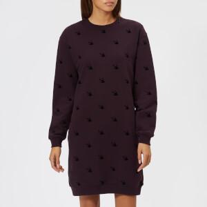 McQ Alexander McQueen Women's Classic Sweater Dress - Cardinal