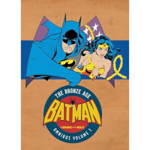 DC Comics Batman Brave and The Bold Bronze Age Omnibus Hardcover