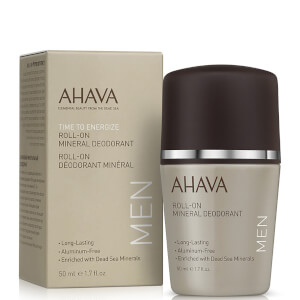 AHAVA Dead Sea Mineral Deodorant 50ml For Men