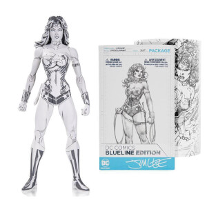 Figura articulada Wonder Woman Jim Lee - DC Blueline