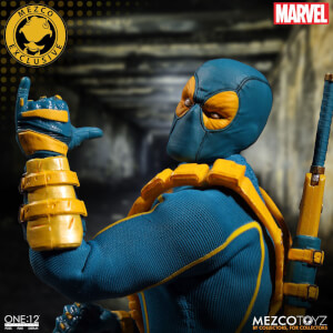 Figurine Deadpool Mezco Échelle 1/12 Collective X-Men - SDCC 2017 Exclusive