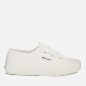 Superga Women's 2750-Cotw Big Lace Trainers - White