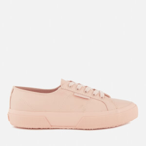Superga Women's 2750 Nappaleau Leather Trainers - Light Pink