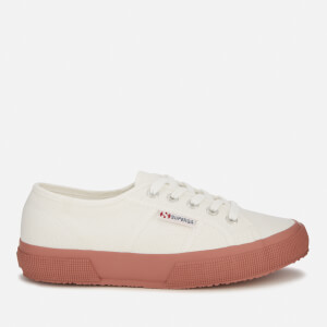 Superga Women's 2750 Cotu Classic Trainers - White/Dusty Rose