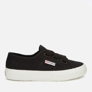 Superga Women's 2750-Cotw Big Lace Trainers - Black