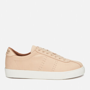 Superga Women's 2843 Nubucku Leather Trainers - Light Tan