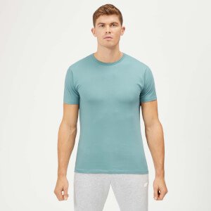 Myprotein Plain Airforce Blue POD T-Shirt