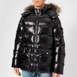 Pyrenex Men's Vintage Authentic Jacket Shiny Fur - Black