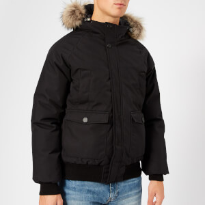Pyrenex Men's Mistral Bomber Jacket Fur - Black