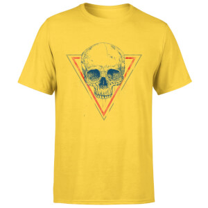 Balazs Solti Skull Men's T-Shirt - Yellow