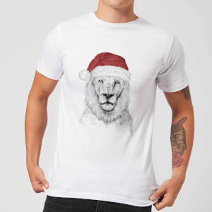 Balazs Solti Santa Bear Men's T-Shirt - White