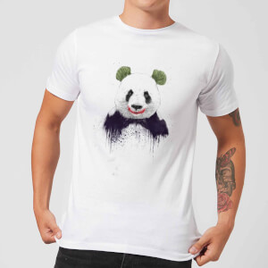 Balazs Solti Joker Panda Men's T-Shirt - White