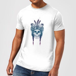 Balazs Solti Bear Head Men's T-Shirt - White