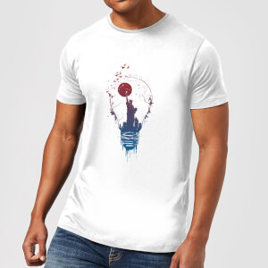Balazs Solti NYC Moon Men's T-Shirt - White