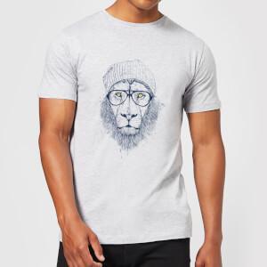 Balazs Solti Lion Men's T-Shirt - Grey