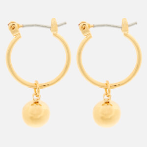 Whistles Women's Sphere Drop Mini Hoop Earrings - Gold