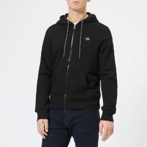 Michael Kors Men's Logo Fleece Hoody - Black
