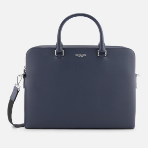 Michael Kors Men's Harrison Briefcase - Navy