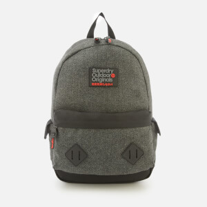 Superdry Men's Herrington Montana Backpack - Grey Herringbone