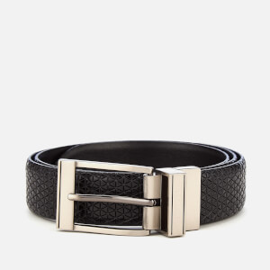 Ted Baker Men's Tatti Textured Reversible Belt - Black