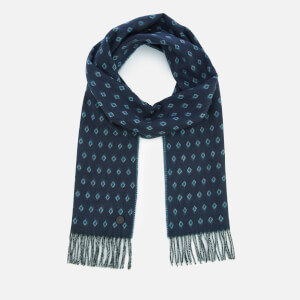Ted Baker Men's Lifton Diamond Scarf - Navy