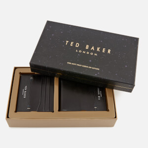 Ted Baker Men's Taglee Wallet and Card Holder Giftset - Black