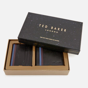 Ted Baker Men's Hooms Wallet and Cardholder Giftset - Black