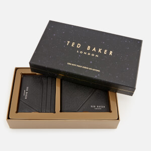 Ted Baker Men's Piaza Wallet and Cardholder Giftset - Black