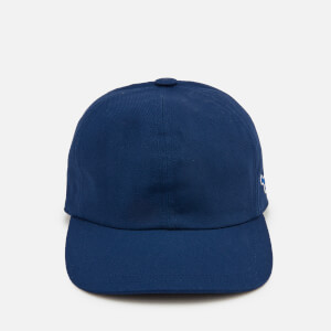 Maison Kitsuné Men's Tricolor Fox Patch Cap - Navy