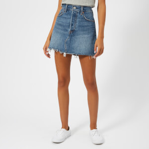 Levi's Women's Deconstructed Skirt - Middle Man