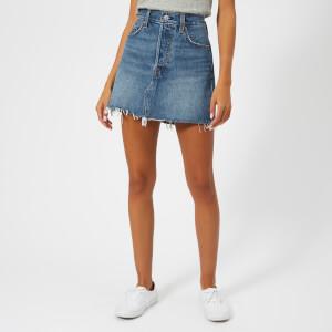 Levi's Women's Deconstructed Skirt - Middle Man