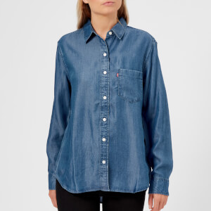 Levi's Women's Ultimate Boyfriend Shirt - Medium Authentic