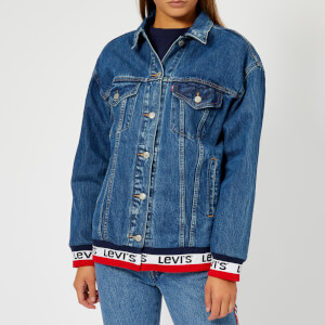 Levi's Women's Baggy Sport Tape Trucker Jacket - Good Sport